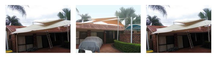 Shade sale repairs gold coast Australia
