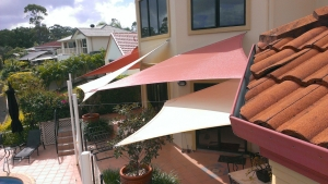 Clean Shade Sails